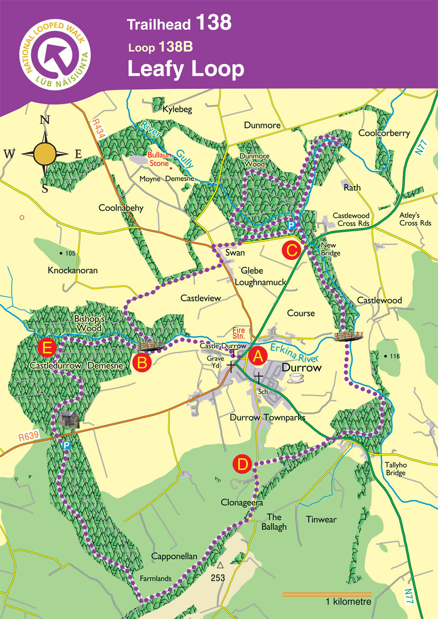 Leafy Loop Durrow Map