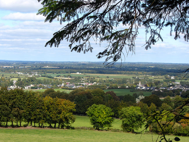 View of Durrow From The Ballagh